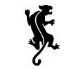 Roofdieren tattoo voorbeeld Zwarte panter