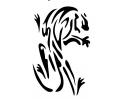 Roofdieren tattoo voorbeeld Panter