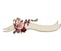 Bloemen tattoo voorbeeld Roze roosje