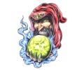 Boosaardige Tattoos tattoo voorbeeld Boze Tovenaar 1