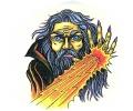 Boosaardige Tattoos tattoo voorbeeld Boze Tovenaar 5