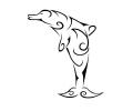 Overige dieren tattoo voorbeeld Dolfijn