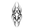 Tribals tattoo voorbeeld Zijtribal