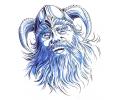Vikingen tattoo voorbeeld Viking 1