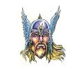 Vikingen tattoo voorbeeld Viking 6