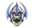 Vikingen tattoo voorbeeld Viking Skull