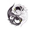 Koi Karpers tattoo voorbeeld Vissen