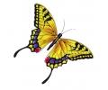 Vlinders tattoo voorbeeld Vlinder Geel