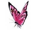 Vlinders tattoo voorbeeld Vlinder Roze 2