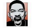 Hollywood tattoo voorbeeld Will Smith 1