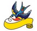 Dieren tattoo voorbeeld Zwaluw 9