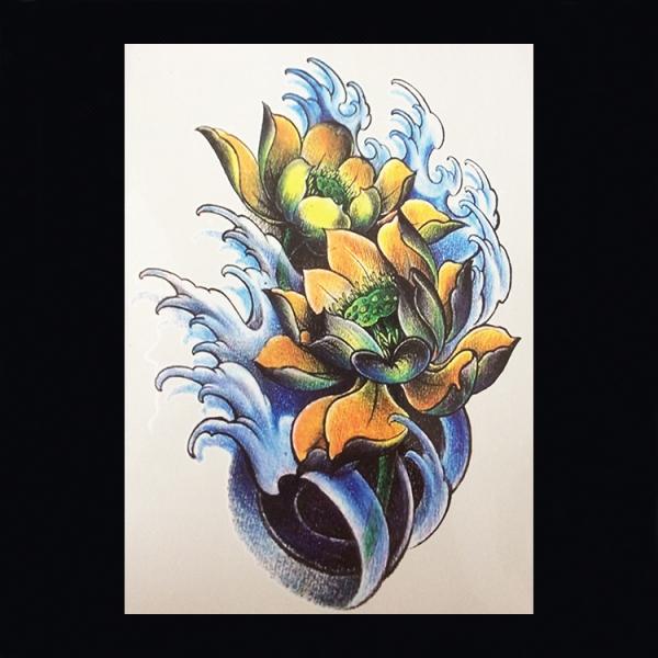 Bloemen 079 Gele Lotus
