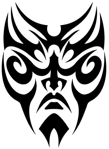 Maori Faketattoo