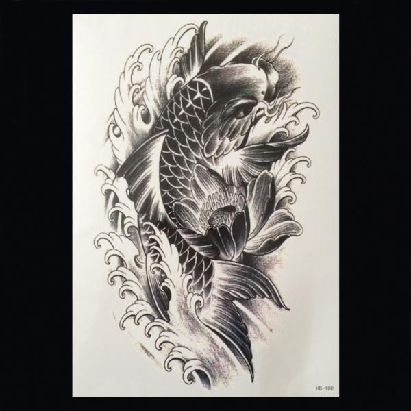 Xl Tattoos Dieren Zwart Wit Faketattoo Nl