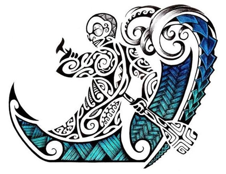 Maori Schipper in Boot