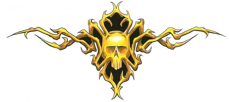 Onderrug Skull
