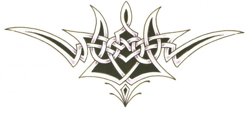 Onderrug Tattoo