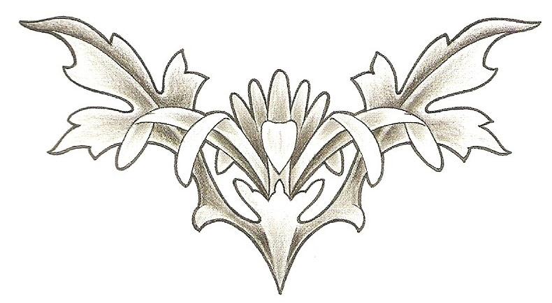 Onderrug Tattoo 7
