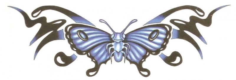 Onderrug Vlinder