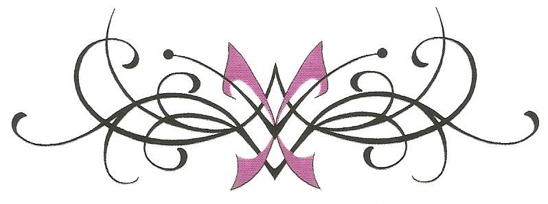 Sierlijke Onderrug Tattoo