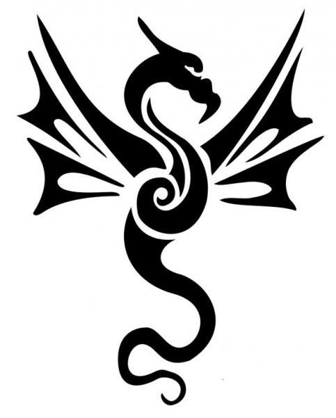 Draken  Faketattoonl