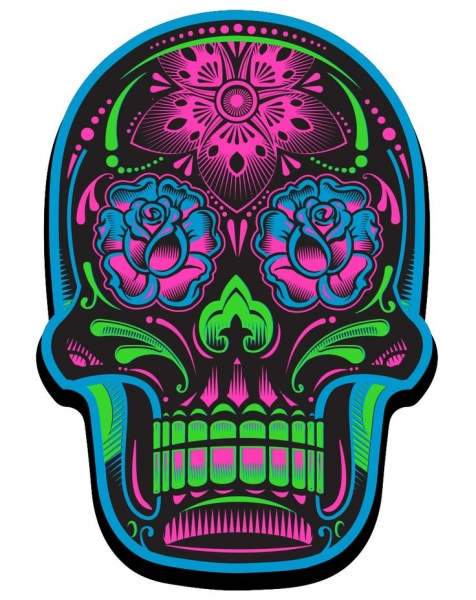 Day Of The Dead Skulls Faketattoo Nl