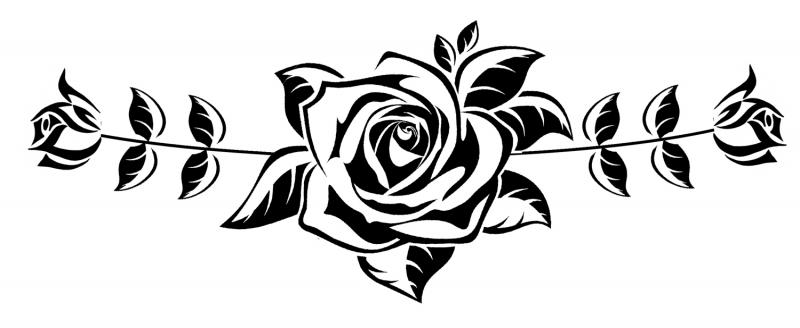 Douwe Bob Geïnspireerde Tattoo Zwart