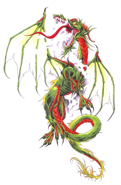 Draak Groen