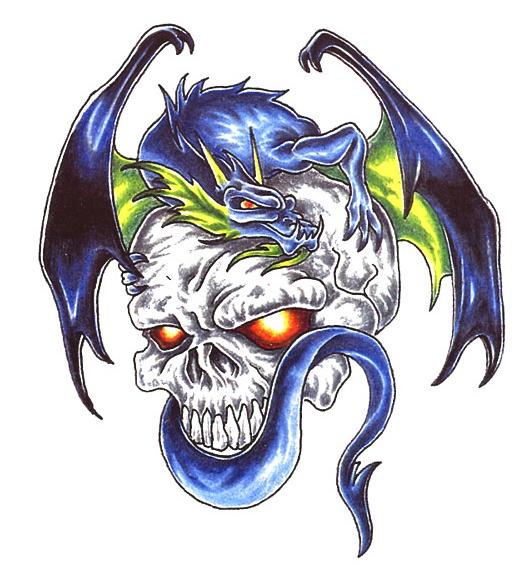 Draak Skull