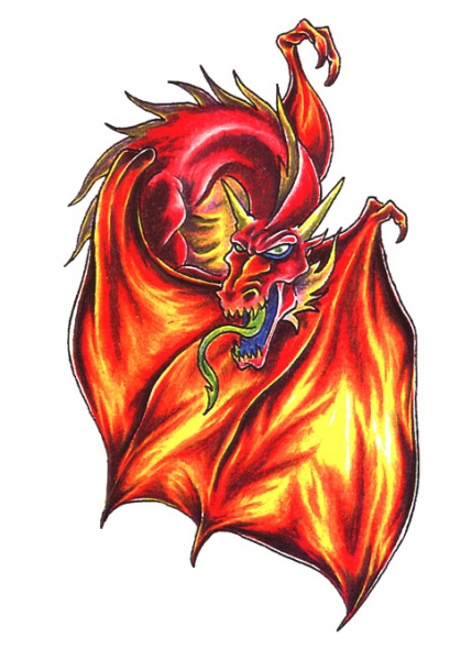 Draak Vleugel