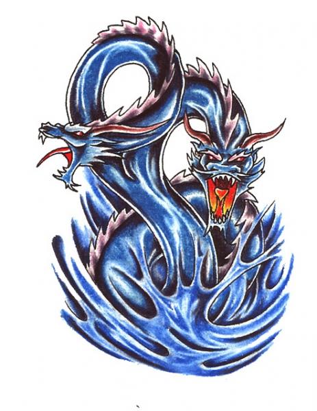 Blauwe Draken