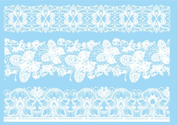 Lace (Kant) Tattoo Set Wit 014 15 x 21 cm