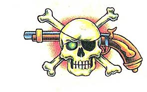 Skull Pistool