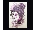 XL Tattoos Vrouwfiguren kleur tattoo voorbeeld Vrouw 005