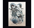 XL Tattoos Vrouwfiguren zwart/wit tattoo voorbeeld Vrouw 014