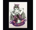 XL Tattoos Kleur tattoo voorbeeld Vrouw 021