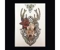 XL Tattoos Kleur tattoo voorbeeld Boosaardig 044