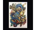 XL Tattoos Kleur tattoo voorbeeld Boosaardig 045