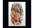 XL Tattoos Kleur tattoo voorbeeld Dieren 086 Koi Karper Geel