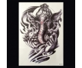 XL Tattoos symbolen zwart/wit tattoo voorbeeld Symbolen 103 Olifant met Henna