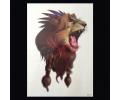 XL Tattoos Dieren kleur tattoo voorbeeld Dieren 152 Leeuw