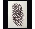 XL Tattoos Schouder tattoo zwart/wit tattoo voorbeeld Schouder Tattoo 160