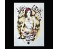 XL Tattoos Vrouwfiguren kleur tattoo voorbeeld Vrouw 199