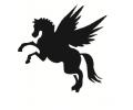 Pegasus tattoo voorbeeld Vliegend paard / Pegasus