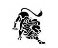 Sterrenbeelden tattoo voorbeeld Leeuw