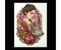 XL Tattoos Vrouwfiguren kleur tattoo voorbeeld vrouw 209