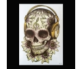 XL Tattoos Boosaardig kleur tattoo voorbeeld Boosaardig 214
