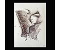 XL Tattoos Vrouwfiguren zwart/wit tattoo voorbeeld Vrouw 219