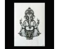 XL Tattoos Schouder tattoo zwart/wit tattoo voorbeeld Symbolen 247