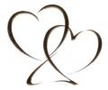 Liefde / Valentijn tattoo voorbeeld 2 hartjes